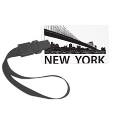 New York Skyline Luggage Tag