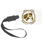 New Yorker Large Luggage Tag