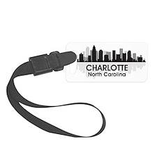 Charlotte Skyline Luggage Tag