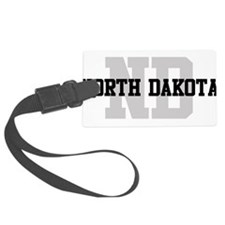ND North Dakota Luggage Tag