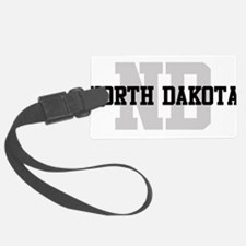 ND North Dakota Luggage Tag