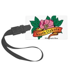 North Dakota Luggage Tag