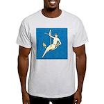 Hooked Ash Grey T-Shirt