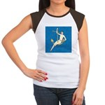 Hooked Women's Cap Sleeve T-Shirt