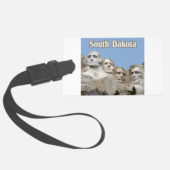South Dakota Mount Rushmore Luggage Tag