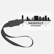 Nashville Skyline Luggage Tag