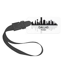 Dallas Skyline Luggage Tag
