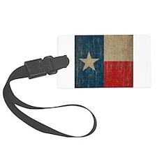 Vintage Texas Flag Luggage Tag