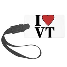 I Love Vermont Luggage Tag