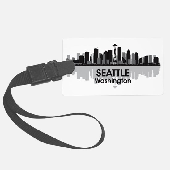 Seattle Luggage Tag