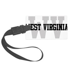 WV West Virginia Luggage Tag