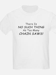 Unique Chainsaw T-Shirt