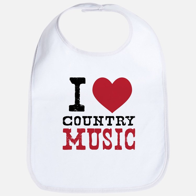 Country Music Bib