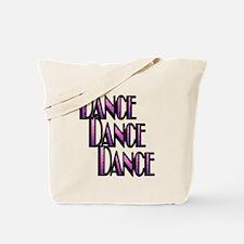 DANCE DANCE DANCE- PURPLE SWIRL copy.png Tote Bag