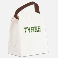 Tyree, Vintage Camo, Canvas Lunch Bag