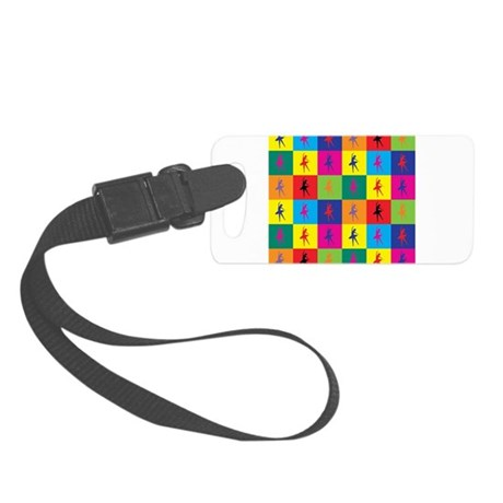 Pop Art Ballet Small Luggage Tag