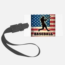 Grunge USA Baseball Luggage Tag