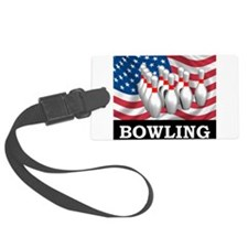 American Bowling Luggage Tag
