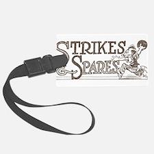 Bowling Strikes & Spares Luggage Tag