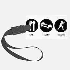 Eat Sleep Boxing Luggage Tag