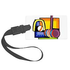 Croquet Luggage Tag