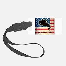 Grunge USA Equestrian Luggage Tag