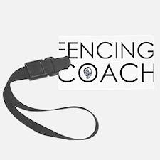 Fencing Coach Luggage Tag