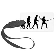 Fencing Evolution Luggage Tag