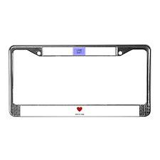 LIKE DAT License Plate Frame