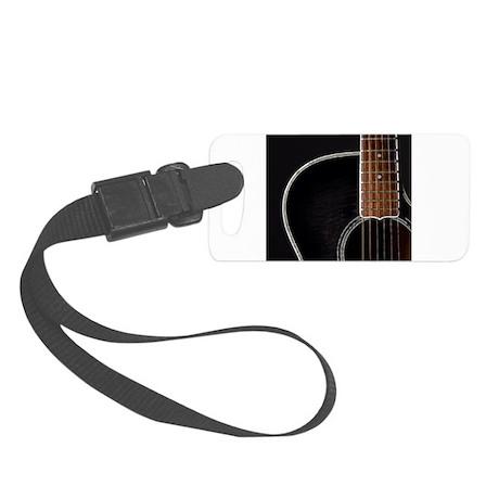 Guitar Small Luggage Tag