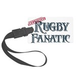 Rugby Fanatic Large Luggage Tag