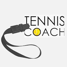 Tennis Coach Luggage Tag
