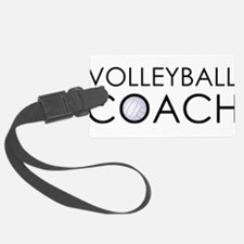 Volleyball Coach Luggage Tag