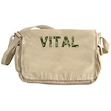 Vital, Vintage Camo, Messenger Bag