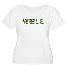 Wible, Vintage Camo, T-Shirt