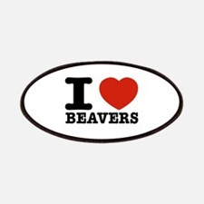 I love Beavers Patches