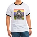 Poodle Meadow Ringer T