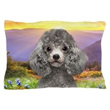 Poodle Meadow Pillow Case