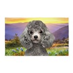 Poodle Meadow 3'x5' Area Rug