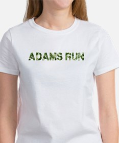 Adams Run, Vintage Camo, Women's T-Shirt
