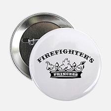 Firefighter's Princess Button