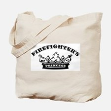 Firefighter's Princess Tote Bag