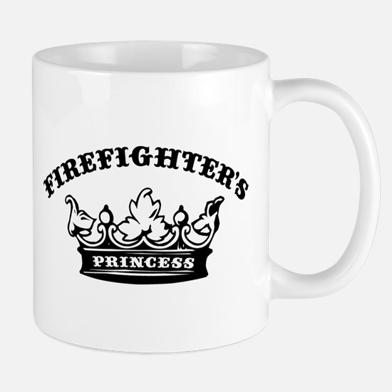 Firefighter's Princess Mug