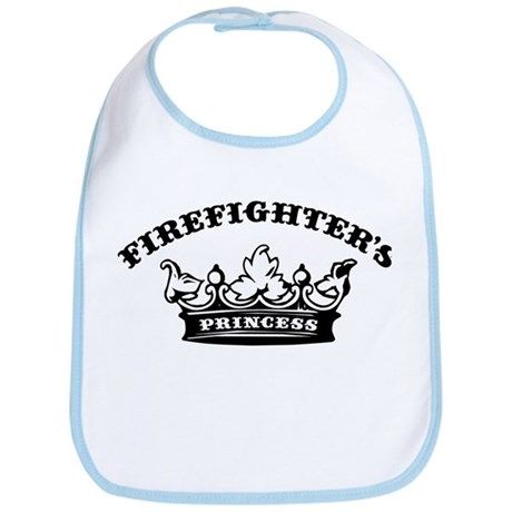 Firefighter's Princess Bib