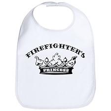 Firefighter's Princess Bib