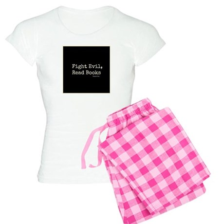 Fight Evil, Read Books Women's Light Pajamas