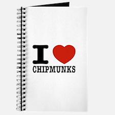 I love Chipmunks Journal