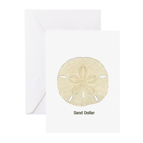 Sand Dollar Logo Greeting Cards (Pk of 10)