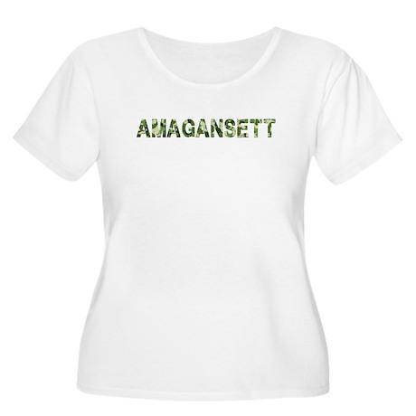 Amagansett, Vintage Camo, Women's Plus Size Scoop