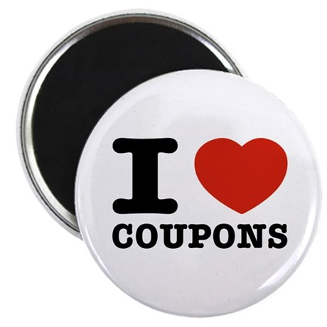 I love Coupons Magnet